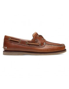 CLASSIC BOAT  2 EYE SHOE BROWN