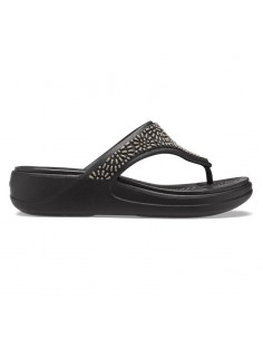 CROCS MONTEREY DIAMANTE BLACK