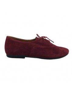 OXFORD BURGUNDY SUEDE